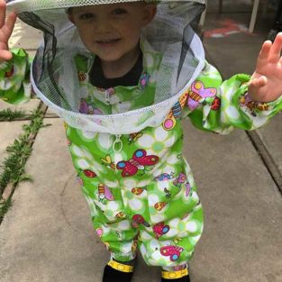 Child Bee Suit